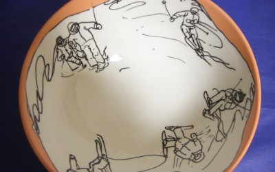 Bol esquiadors taronja 1